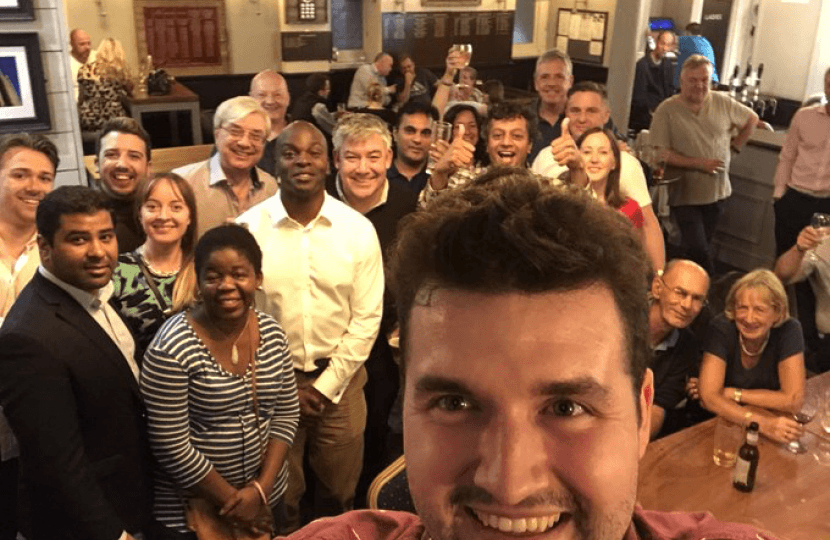 sutton conservatives pub social