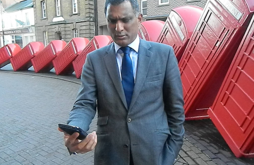 Syed Kamall MEP - Mobile Phones in London